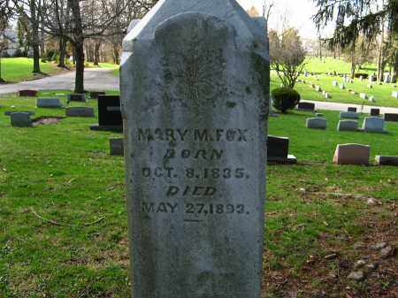 FOX, MARY MATILDA - Champaign County, Ohio | MARY MATILDA FOX - Ohio Gravestone Photos