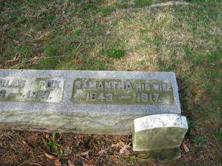 FOX, SAMANTHA - Champaign County, Ohio | SAMANTHA FOX - Ohio Gravestone Photos