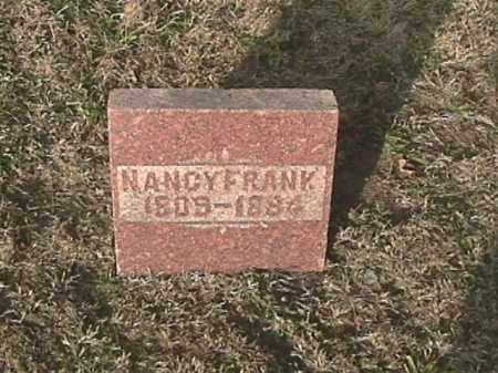 FRANK, NANCY - Champaign County, Ohio | NANCY FRANK - Ohio Gravestone Photos