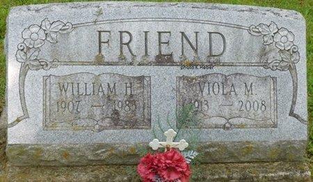 BASYE FRIEND, VIOLA MAY - Champaign County, Ohio | VIOLA MAY BASYE FRIEND - Ohio Gravestone Photos
