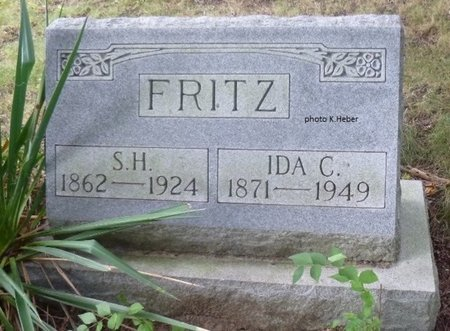 ALLISON FRITZ, IDA CATHERINE - Champaign County, Ohio | IDA CATHERINE ALLISON FRITZ - Ohio Gravestone Photos