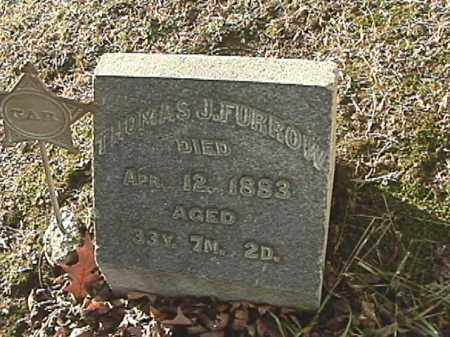 FURROW, THOMAS J. - Champaign County, Ohio | THOMAS J. FURROW - Ohio Gravestone Photos