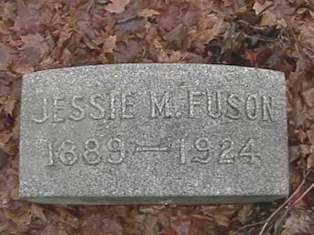FUSON, JESSIE M. - Champaign County, Ohio | JESSIE M. FUSON - Ohio Gravestone Photos