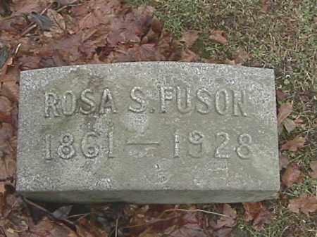 FUSON, ROSA S. - Champaign County, Ohio | ROSA S. FUSON - Ohio Gravestone Photos
