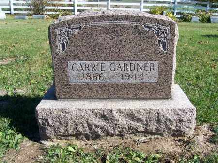 GARDNER, CARRIE - Champaign County, Ohio | CARRIE GARDNER - Ohio Gravestone Photos
