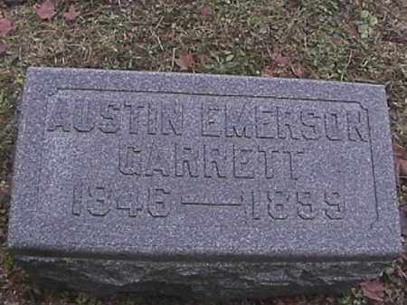 GARRETT, AUSTIN EMERSON - Champaign County, Ohio | AUSTIN EMERSON GARRETT - Ohio Gravestone Photos