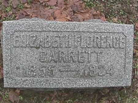 GARRETT, ELISABETH FLORENCE - Champaign County, Ohio | ELISABETH FLORENCE GARRETT - Ohio Gravestone Photos
