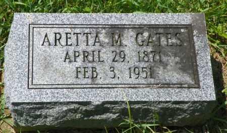 GATES, ARETTA M. - Champaign County, Ohio | ARETTA M. GATES - Ohio Gravestone Photos