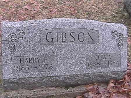 GIBSON, OTA V. - Champaign County, Ohio | OTA V. GIBSON - Ohio Gravestone Photos