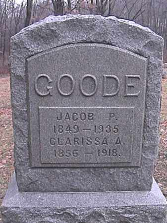 GOODE, JACOB P. - Champaign County, Ohio | JACOB P. GOODE - Ohio Gravestone Photos