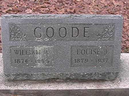 GOODE, LOUISE J. - Champaign County, Ohio | LOUISE J. GOODE - Ohio Gravestone Photos