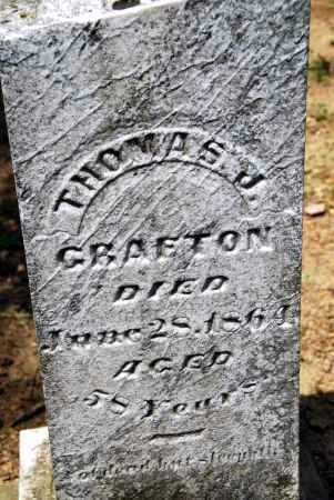 GRAFTON, THOMAS J. - Champaign County, Ohio | THOMAS J. GRAFTON - Ohio Gravestone Photos