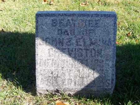 GREVISTON, BEATICE - Champaign County, Ohio | BEATICE GREVISTON - Ohio Gravestone Photos