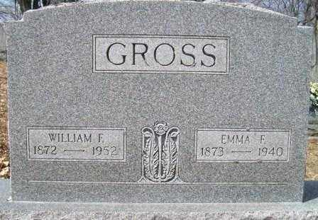 GROSS, WILLIAM F. - Champaign County, Ohio | WILLIAM F. GROSS - Ohio Gravestone Photos