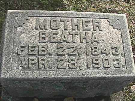 GUMPERT, BERTHA - Champaign County, Ohio | BERTHA GUMPERT - Ohio Gravestone Photos