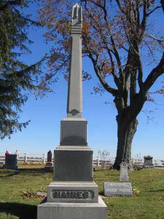 HAINES, JUDIAH - Champaign County, Ohio | JUDIAH HAINES - Ohio Gravestone Photos