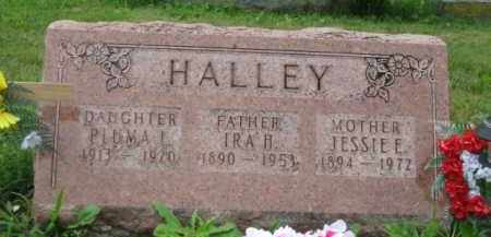 HALLEY, PLUMA LUCILLE - Champaign County, Ohio | PLUMA LUCILLE HALLEY - Ohio Gravestone Photos