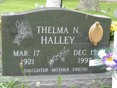 HALLEY, THELMA NEIL HALLEY - Champaign County, Ohio | THELMA NEIL HALLEY HALLEY - Ohio Gravestone Photos