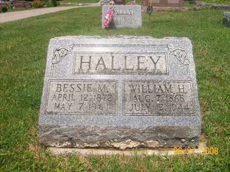 HALLEY, WILLIAM H - Champaign County, Ohio | WILLIAM H HALLEY - Ohio Gravestone Photos