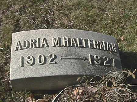 HALTERMAN, ADRIA M. - Champaign County, Ohio | ADRIA M. HALTERMAN - Ohio Gravestone Photos