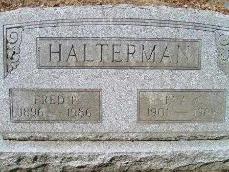 HALTERMAN, EVA A. - Champaign County, Ohio | EVA A. HALTERMAN - Ohio Gravestone Photos