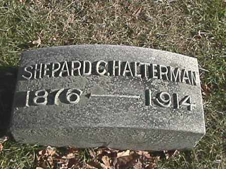 HALTERMAN, SHEPARD CLYDE - Champaign County, Ohio | SHEPARD CLYDE HALTERMAN - Ohio Gravestone Photos