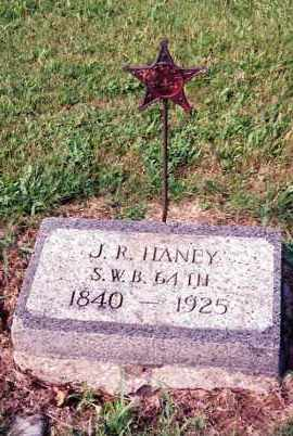 HANEY, JUNIUS RANDOLPH - Champaign County, Ohio | JUNIUS RANDOLPH HANEY - Ohio Gravestone Photos
