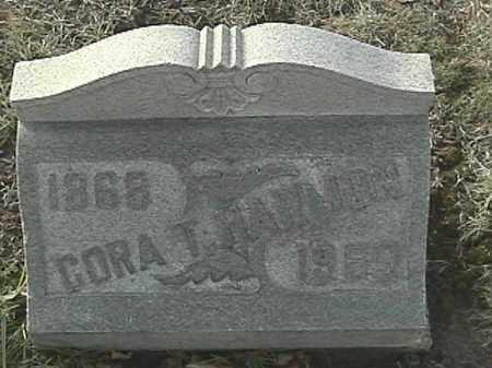 HARMON, CORA T - Champaign County, Ohio | CORA T HARMON - Ohio Gravestone Photos
