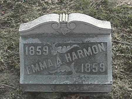 HARMON, EMMA A - Champaign County, Ohio | EMMA A HARMON - Ohio Gravestone Photos