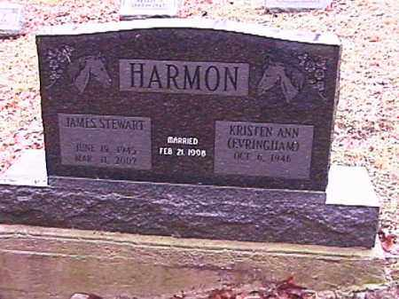 HARMON, JAMES STEWART - Champaign County, Ohio | JAMES STEWART HARMON - Ohio Gravestone Photos