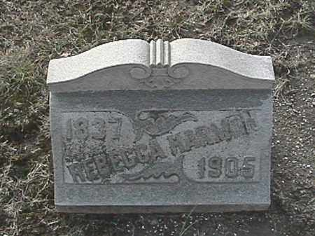 HARMON, REBECCA - Champaign County, Ohio | REBECCA HARMON - Ohio Gravestone Photos