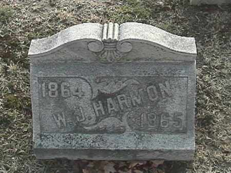 HARMON, WARREN J. - Champaign County, Ohio | WARREN J. HARMON - Ohio Gravestone Photos