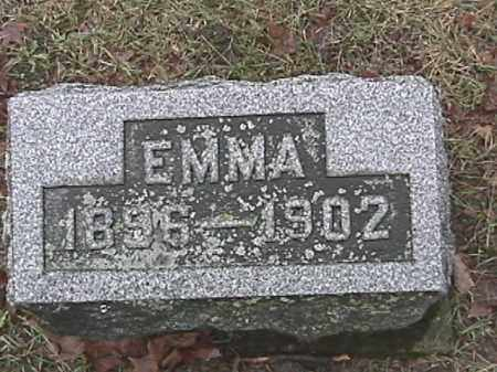HARRIS, EMMA - Champaign County, Ohio | EMMA HARRIS - Ohio Gravestone Photos
