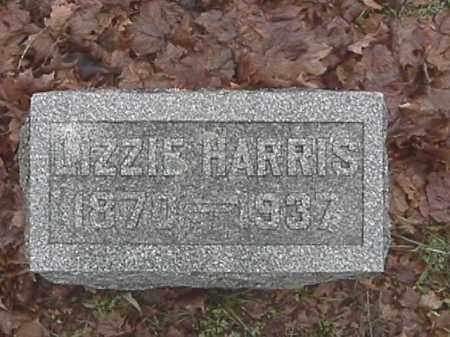 HARRIS, LIZZIE - Champaign County, Ohio | LIZZIE HARRIS - Ohio Gravestone Photos