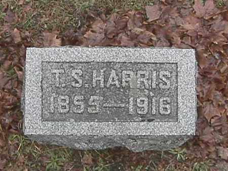 HARRIS, TIMOTHY SYLVESTER - Champaign County, Ohio | TIMOTHY SYLVESTER HARRIS - Ohio Gravestone Photos