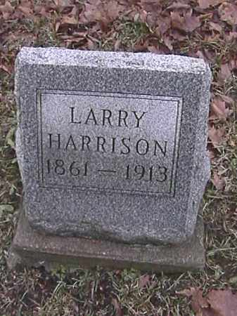 HARRISON, LARRY - Champaign County, Ohio | LARRY HARRISON - Ohio Gravestone Photos