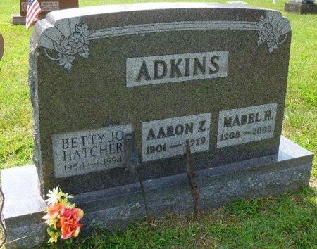 ADKINS HATCHER, BETTY JO - Champaign County, Ohio   BETTY JO ADKINS HATCHER - Ohio Gravestone Photos