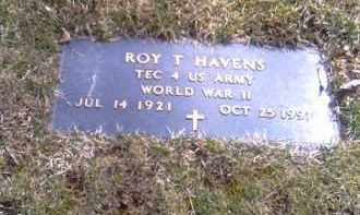 HAVENS, ROY - Champaign County, Ohio | ROY HAVENS - Ohio Gravestone Photos