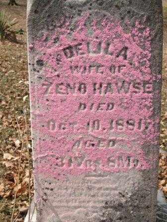 HAWSE, DELILA - Champaign County, Ohio | DELILA HAWSE - Ohio Gravestone Photos