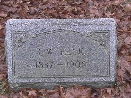 HECK, GEORGE WASHINGTON - Champaign County, Ohio | GEORGE WASHINGTON HECK - Ohio Gravestone Photos