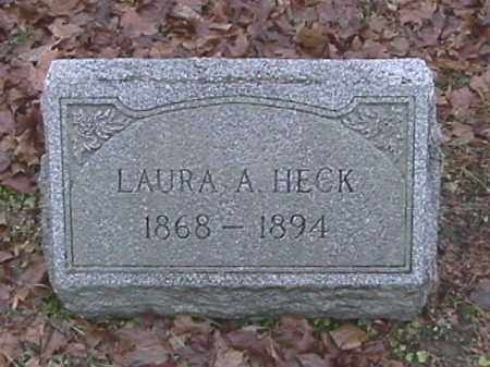 HECK, LAURA A. - Champaign County, Ohio | LAURA A. HECK - Ohio Gravestone Photos