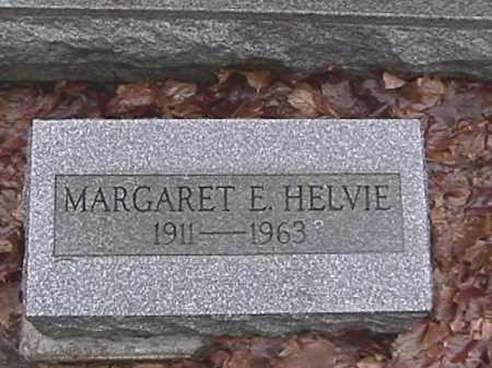 HELVIE, MARGARET E. - Champaign County, Ohio | MARGARET E. HELVIE - Ohio Gravestone Photos