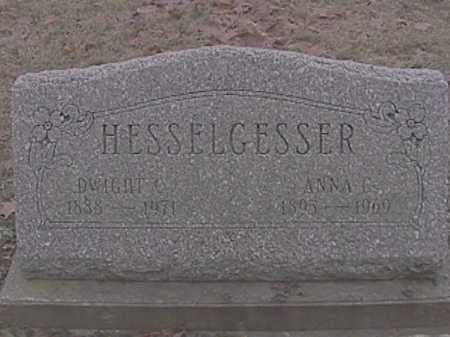 HESSELGESSER, DWIGHT C. - Champaign County, Ohio | DWIGHT C. HESSELGESSER - Ohio Gravestone Photos