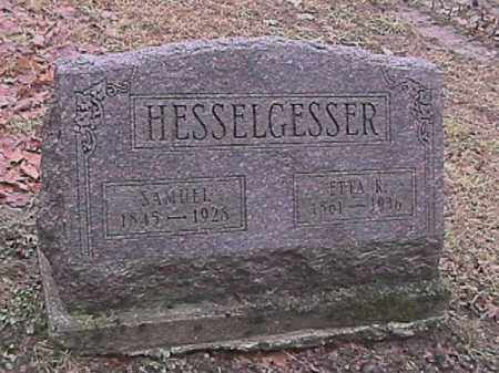 HESSELGESSER, SAMUEL - Champaign County, Ohio | SAMUEL HESSELGESSER - Ohio Gravestone Photos