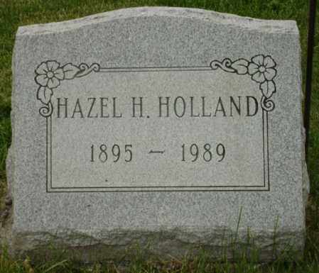 BOYLE HOLLAND, HAZEL H. - Champaign County, Ohio | HAZEL H. BOYLE HOLLAND - Ohio Gravestone Photos