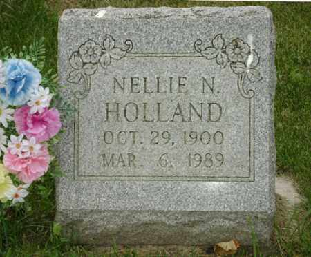 HOLLAND, NELLIE NAOMI - Champaign County, Ohio | NELLIE NAOMI HOLLAND - Ohio Gravestone Photos