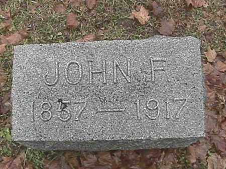 HOOK, JOHN F. - Champaign County, Ohio | JOHN F. HOOK - Ohio Gravestone Photos