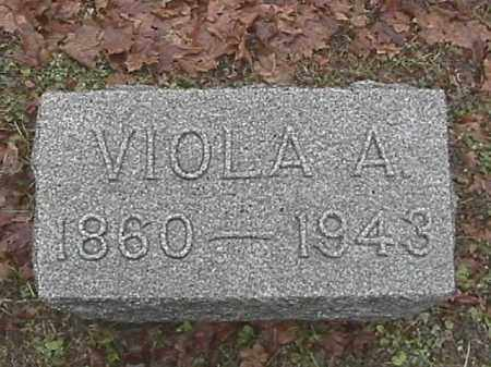 HOOK, VIOLA A. - Champaign County, Ohio | VIOLA A. HOOK - Ohio Gravestone Photos