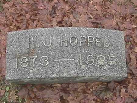 HOPPEL, HENRY JOSEPH - Champaign County, Ohio | HENRY JOSEPH HOPPEL - Ohio Gravestone Photos