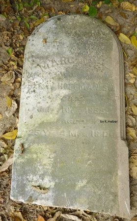 ABBOTT HUFFMAN/HOFFMAN, MARGARET - Champaign County, Ohio | MARGARET ABBOTT HUFFMAN/HOFFMAN - Ohio Gravestone Photos